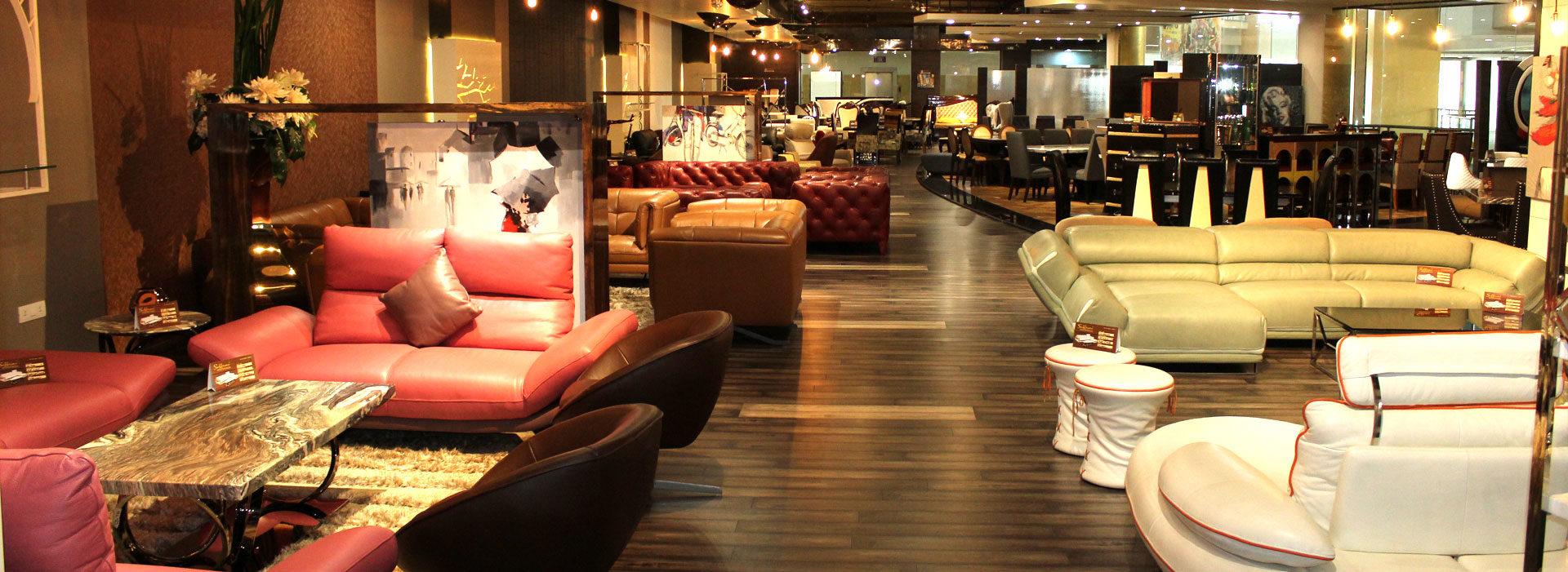 Saffrino the art of furniture showroom at jalandhar